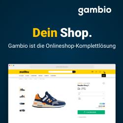 Gambio Onlineshop